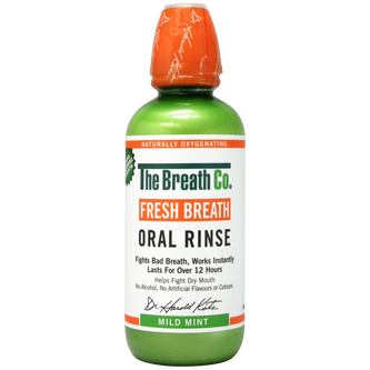 Image: The Breath Co Fresh Breath Mild Mint Oral Rinse 500ml