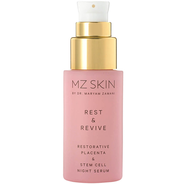 Image of MZ Skin REST & REVIVE Restorative Placenta & Stem Cell Night Serum