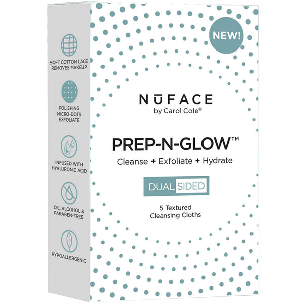 Image of NuFACE Prep-N-Glow Cleansing Cloths (5 Pack)
