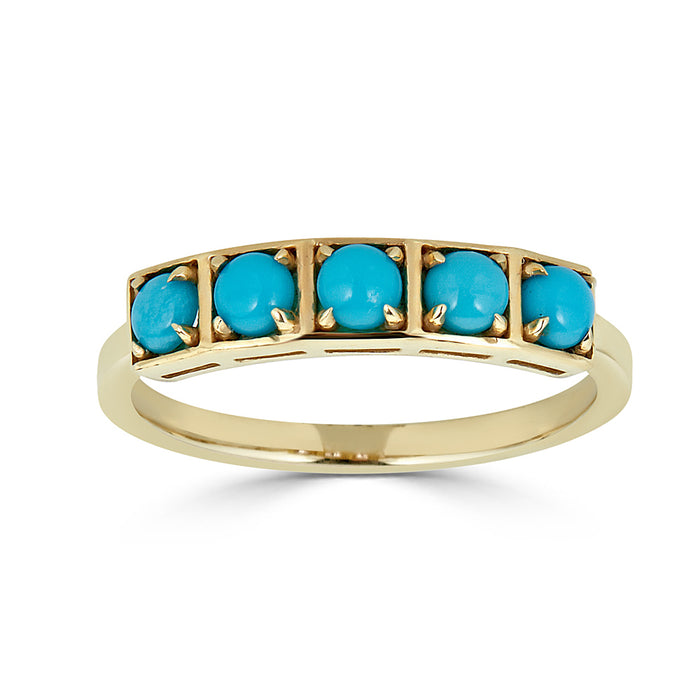 Stack Ring Turquoise