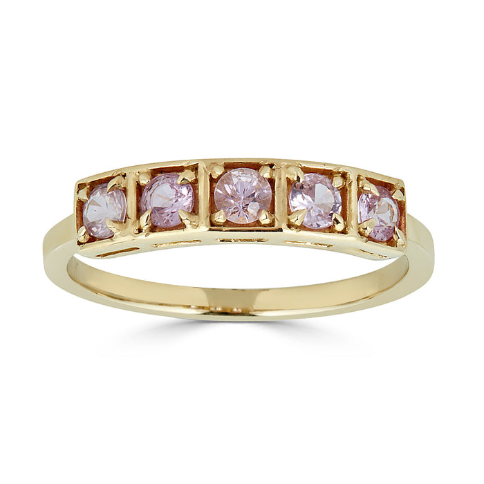 Stack Ring Pink Sapphire