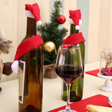 Woven Christmas Decoration Wine Bottle