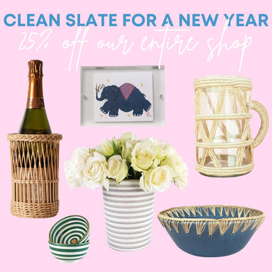 Clean Slate -- January Refresh