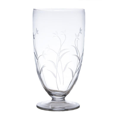 Etched Glass Hurricane