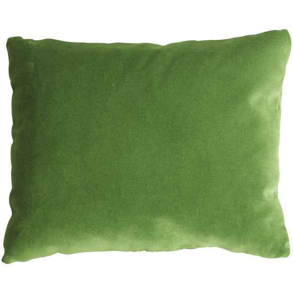 green pillow, two webster, lavendar scented, home decor