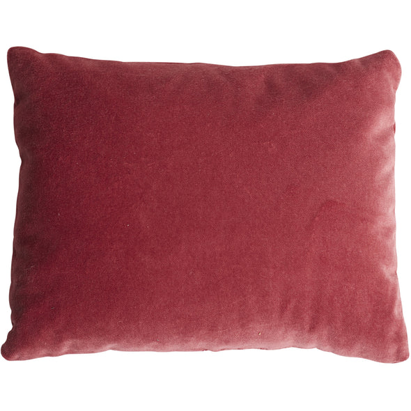 red pillow, lavendar scented, home decor, two webster