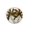 Two Webster, home decor, palm tree, palm tree platter, Egypt, table setting