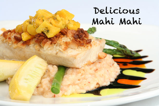 Mahi Mahi, WILD-CAUGHT &  individually vacuum packed, 8 x 6 oz fillets
