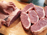 Halal - Beef - NY Striploin Steaks, 10oz Centre Cut, box of 6, from Australia