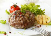 Top Sirloin hamburger patties