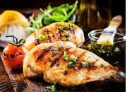 Halal - Chicken - Chicken Breast boneless, skinless, 2 per pack, bolx of 6 x 1lb packs