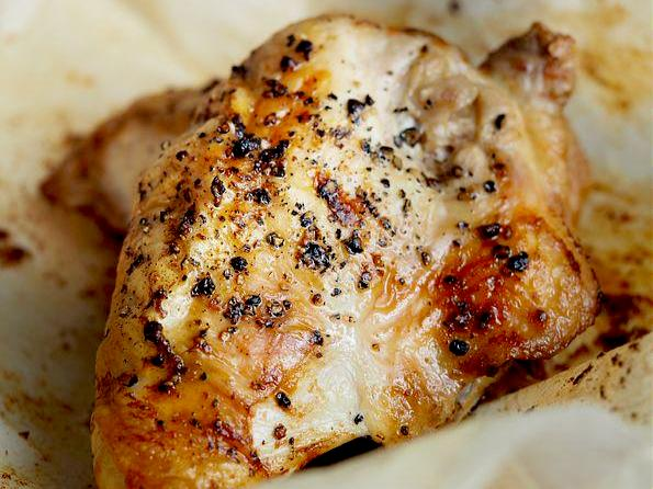 Chicken - Chicken Breasts,10-12oz with bone-in skin-on, Ontario air chilled, packed by 2 in 9lb box