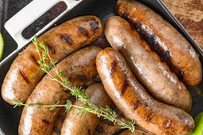 Pork - Sausage - Mild Italian Chorizo 4 Sausages, per pack, x 3 packs approx 4lbs