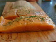 HEALTHY Wild Pacific Salmon, 6oz IQF fillets packed by 4 x 2 fillets