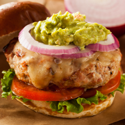 Turkey Burgers, 6-7oz patties, packed by 2, box of 8