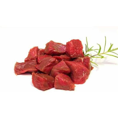 Halal - Stewing Beef, hand-cut daily, 1lb packs, 5 per box