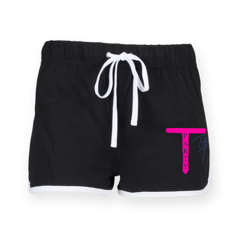 'T-Party' Ladies Shorts