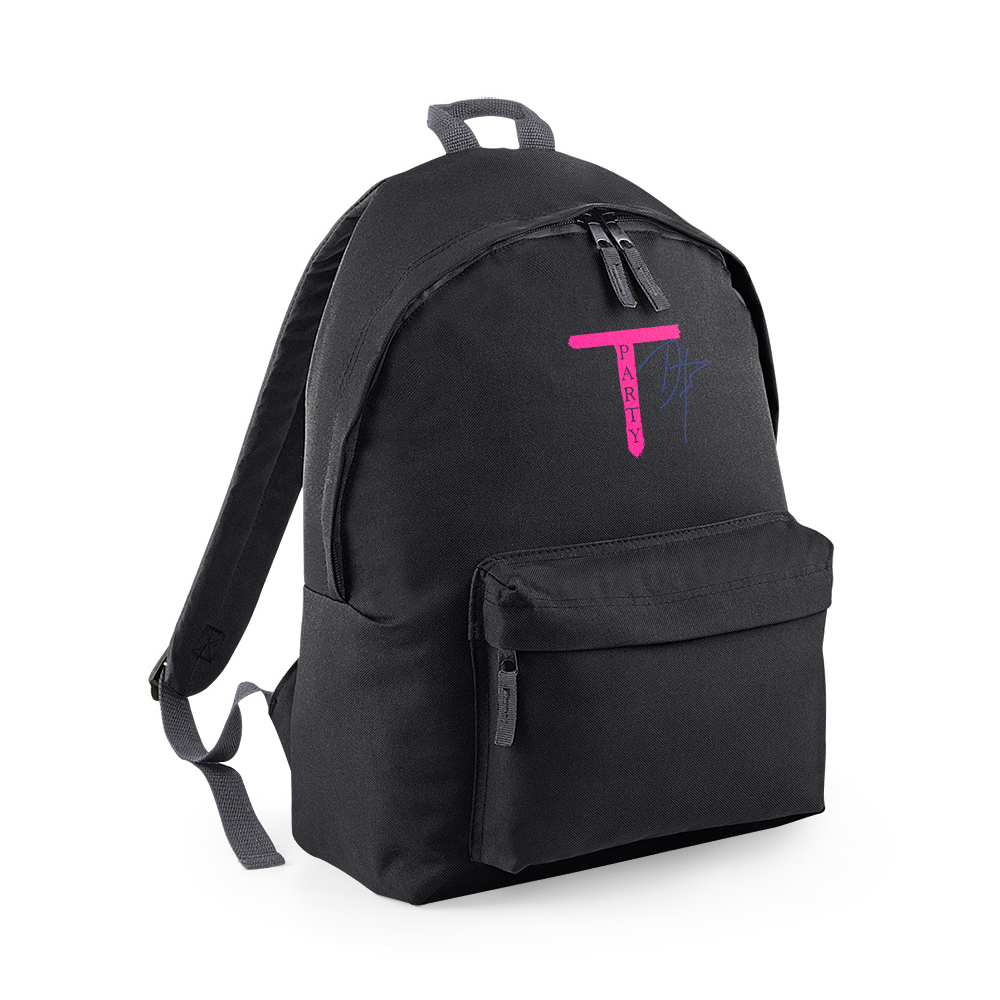 'T-Party' Black Back Pack