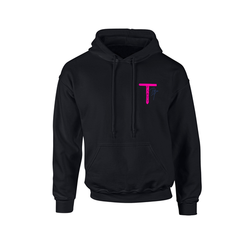 'T-Party' Black Hoodie