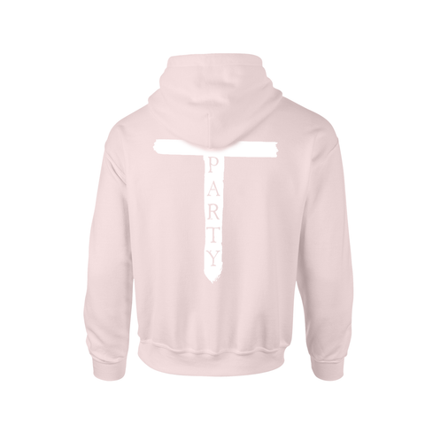 'T-Party' Pink Hoodie