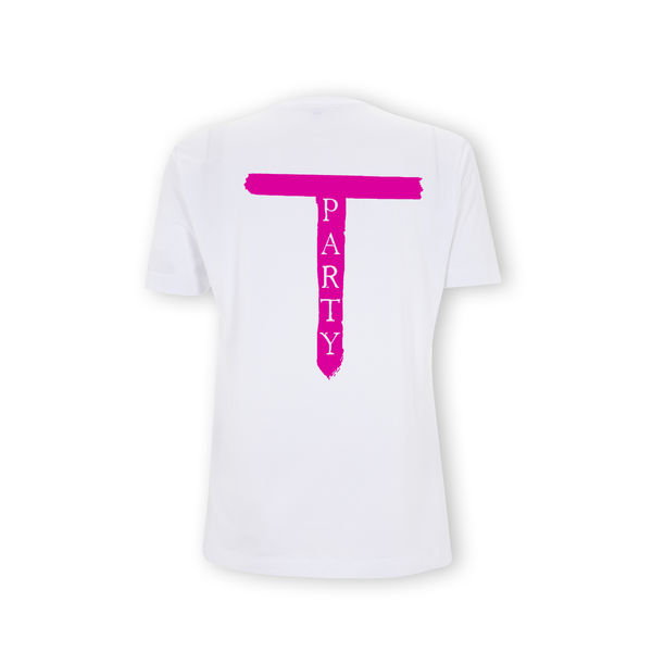 'T Party' White T-Shirt