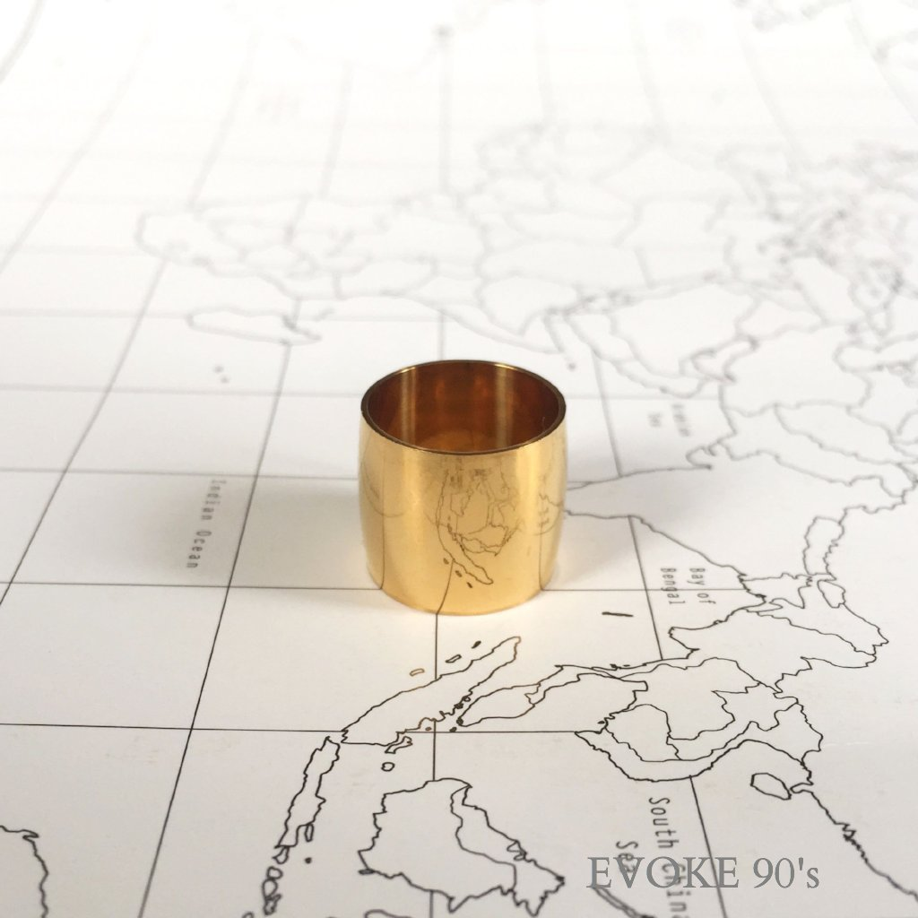 Gold Plated Scarf Ring (Small) - EVOKE90's