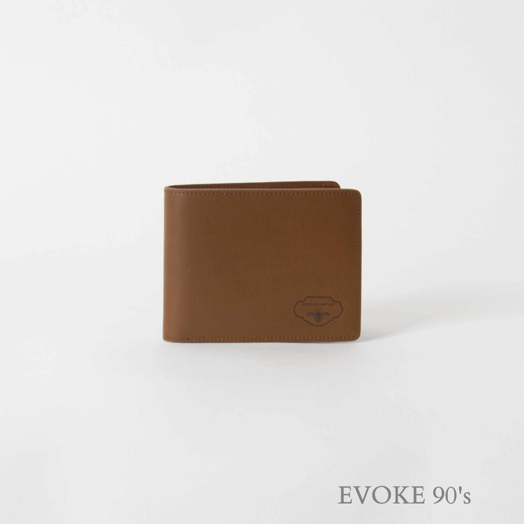 Genuine Leather Wallet (Light Brown) - EVOKE90's