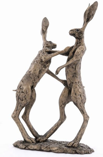 Hannah and Hamish - Boxing Hares