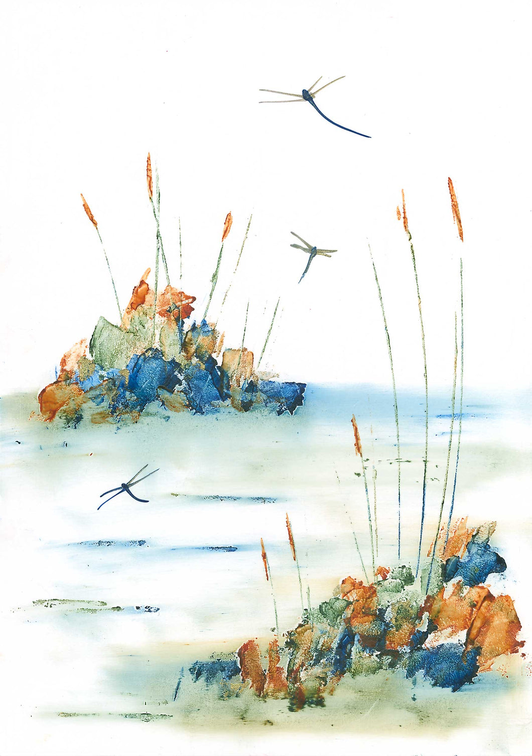 Dragonfly Lake (Limited Edition Print)