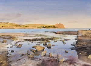 A Calm Summer Evening, Kimmeridge