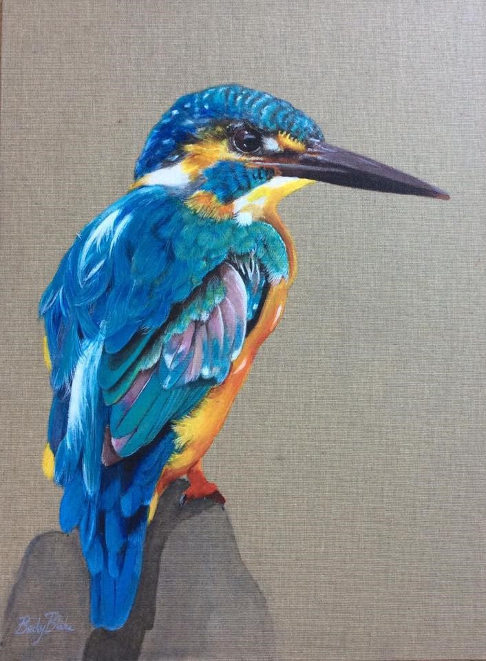 Keith the Kingfisher (Limited Edition Print)