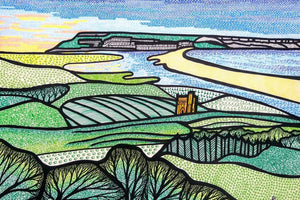 Early Dawn Over Chesil Beach (Limited Edition Print)