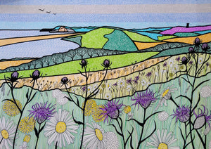 Flower Meadow Overlooking the Fleet (Limited Edition Print)