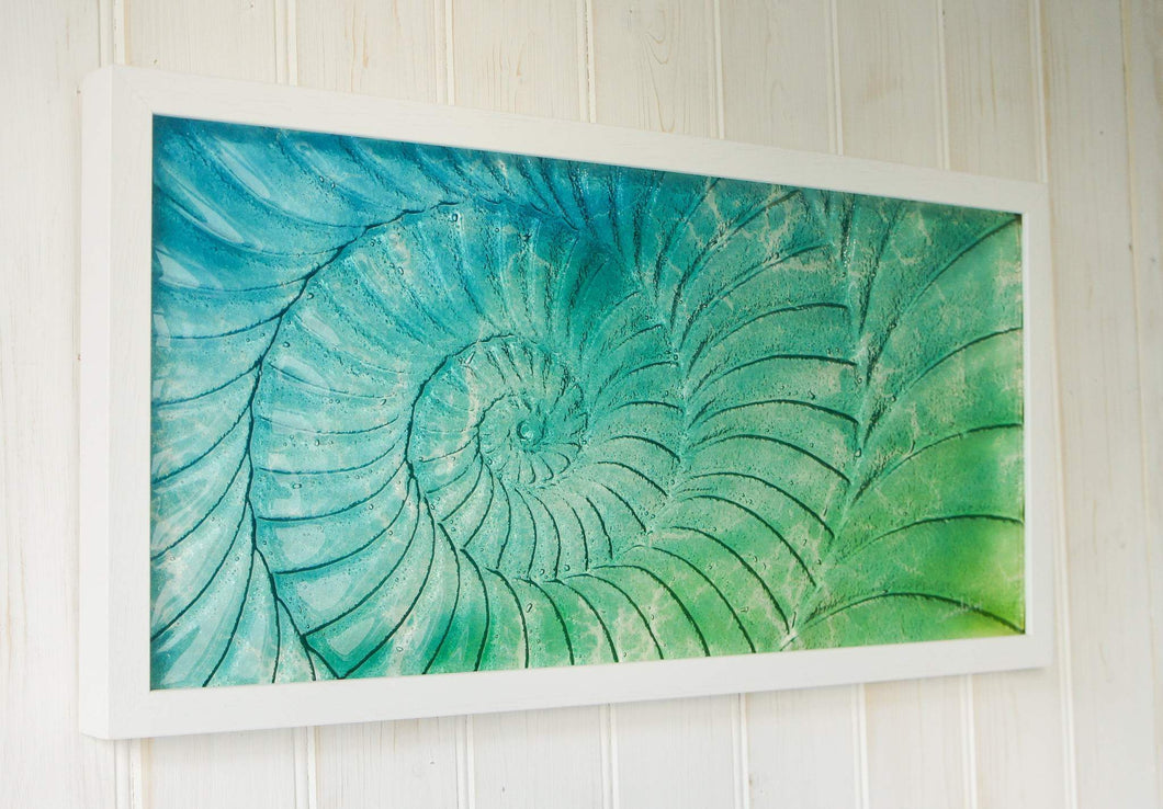 Ammonite Frame (Medium Landscape)