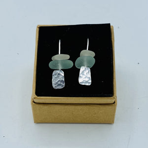 Rectangle Dangler Earrings - Annie Baddiley