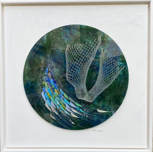 Square Panel (Large) - Round with Fishing Net