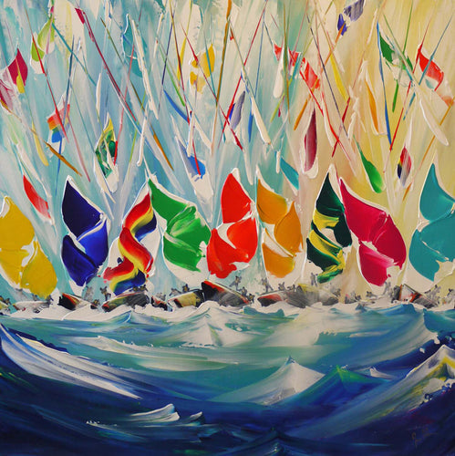 Birling Spinnakers (Limited Edition Print)