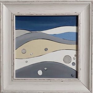 "Chesil Beach (8"" Framed)"