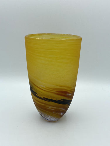 Seaspray Vase - Amber