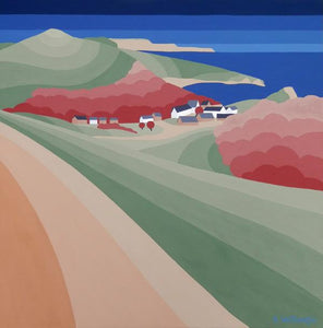 Lulworth Cove 40x40cm (Limited Edition Print)