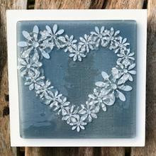 Heart Wall Art Panel - Medium