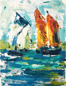 Orange Sails, Morbihan