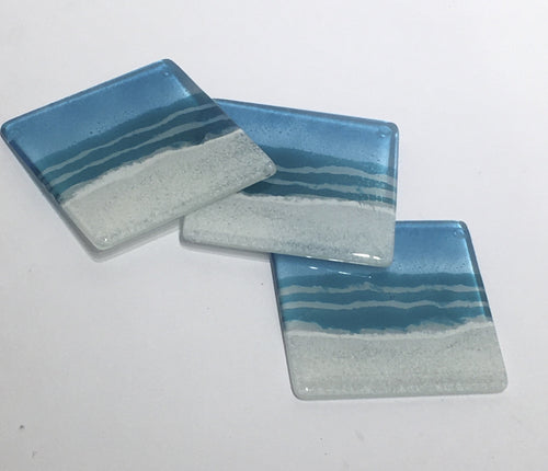 Coasters by Glass Relief