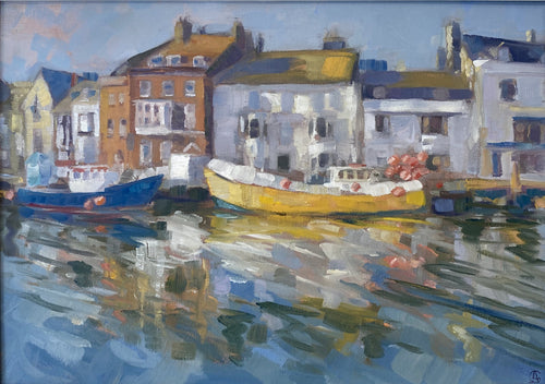Yellow Boat,  Weymouth Harbour