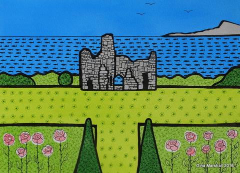 Sandsfoot Castle Gardens (Limited Edition Print)