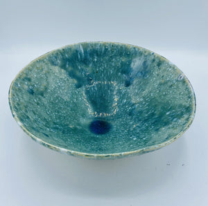 Glazed Green Bowl