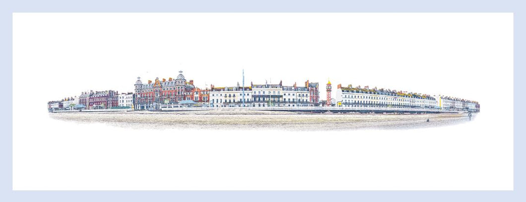 Weymouth Esplanade (Framed)