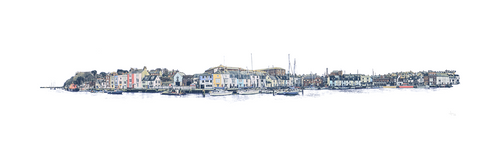 Harbour Walk - Quay (Print)