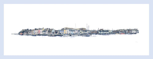 Harbour Walk - Quay (Framed)