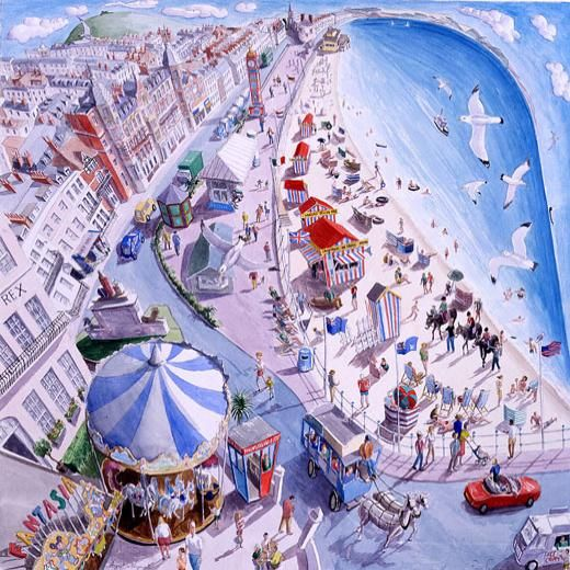 August In Weymouth (Francis Farmar)